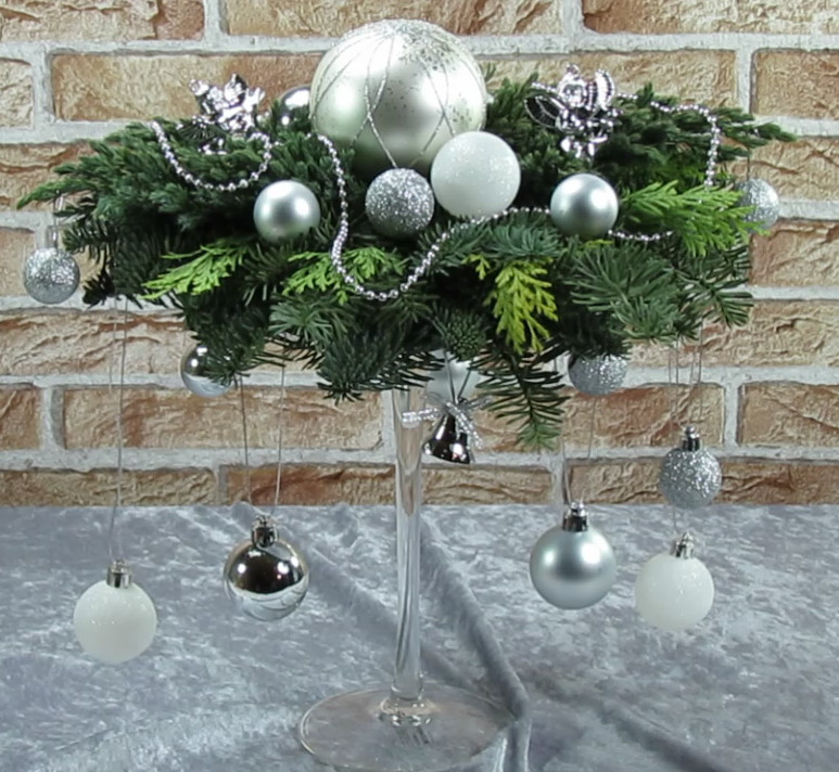 Dekorationen zur Weihnachten